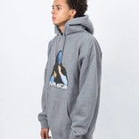 Fucking Awesome Blue Veil Hoodie Heather Grey