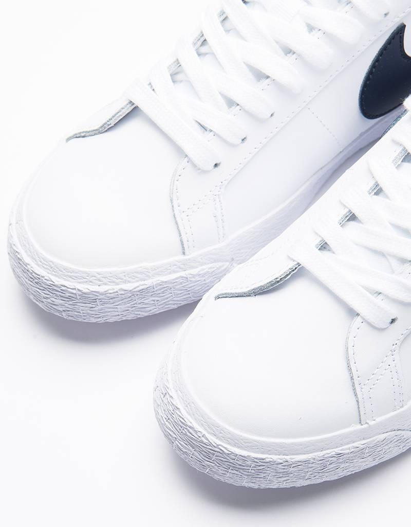 Nike SB Blazer Low White/Obsidian