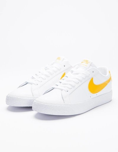 Nike SB Blazer Low White/Mineral Gold