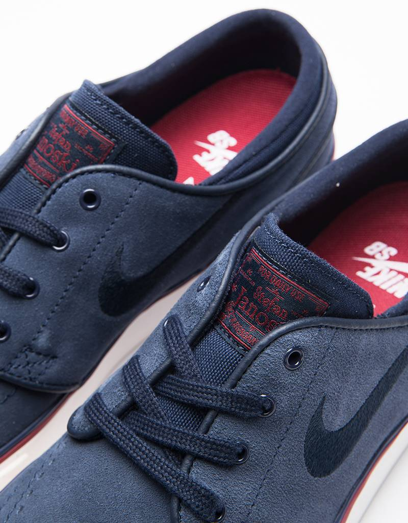 Nike SB WMNS Janoski Dark Obsidian/Team Red