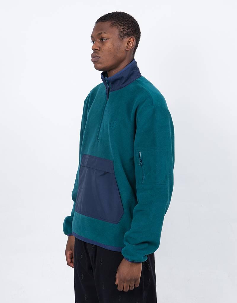 Polar Gonzalez Fleece Jacket Green/Navy