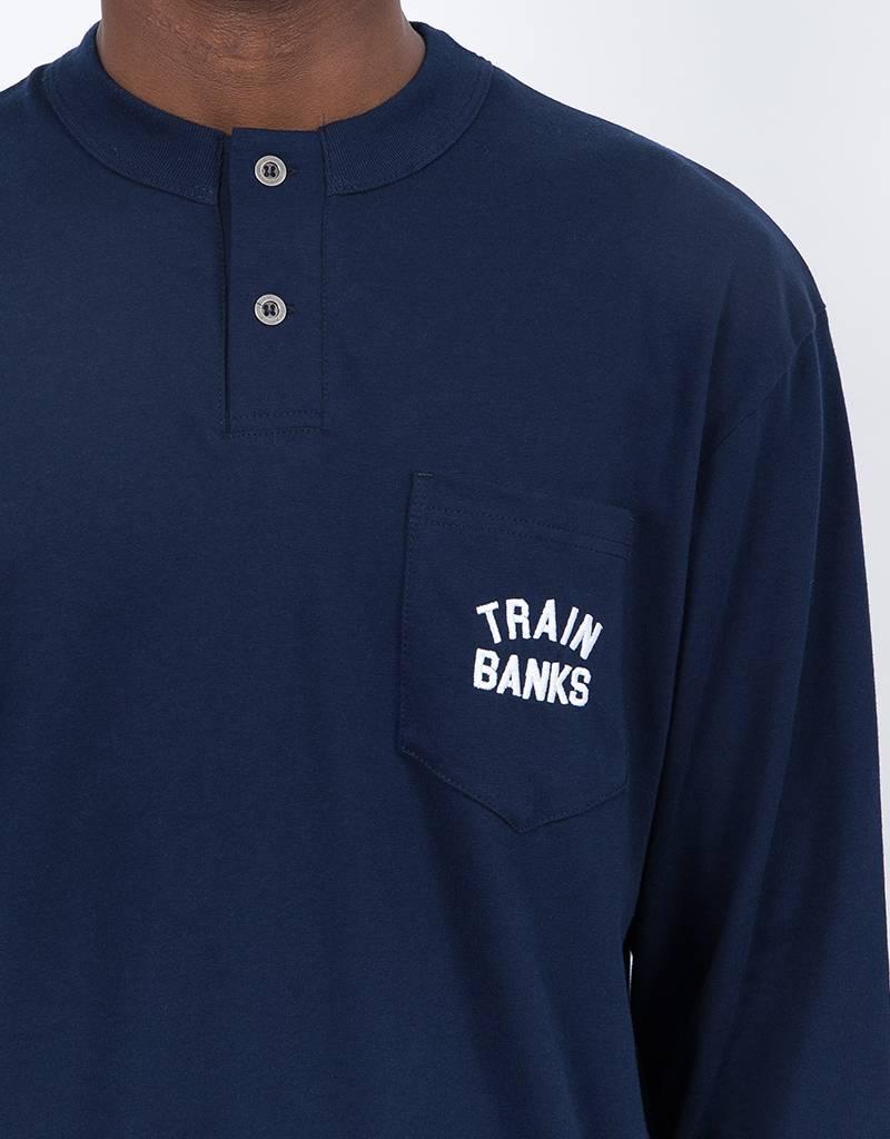 Polar Train Banks Henley Longsleeve Navy