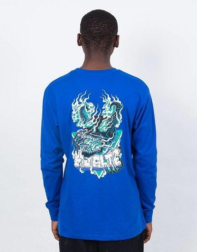 Polar Beast Mode Longsleeve 80s Blue