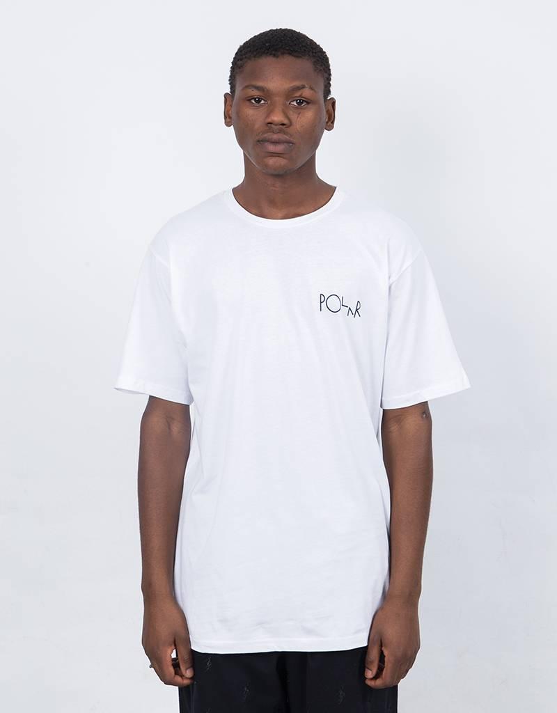 Polar Man With Dog T-shirt White