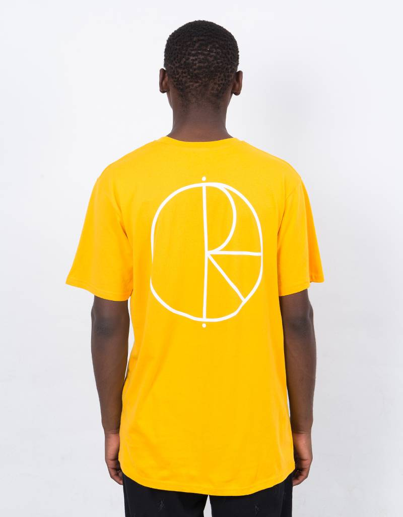 Polar Stroke Logo T-shirt Yellow