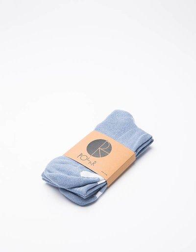 Polar Happy Sad Socks Powder Blue