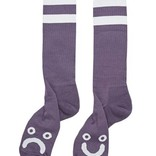 Polar Happy Sad Socks Lilac