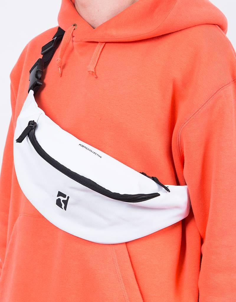Poetic Collective Minimalism Belt Bag White/Black