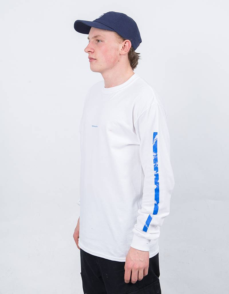 Poetic Collective Rivär Longsleeve White