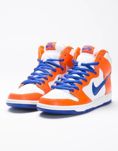 Nike SB Dunk High TRD QS 'Danny Supa' Safety Orange/Hyper Blue/White