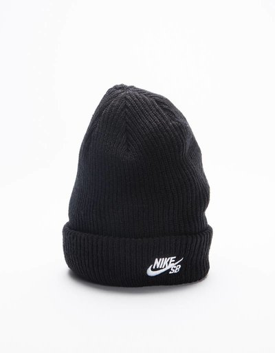 Nike SB Fisherman Beanie Black/White