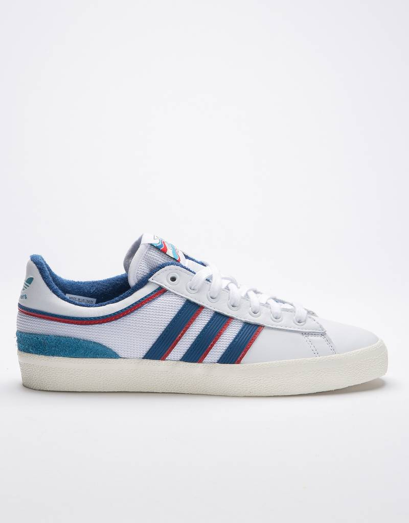 Adidas x Alltimers Campus Vulc White/Core Blue/Scarlet