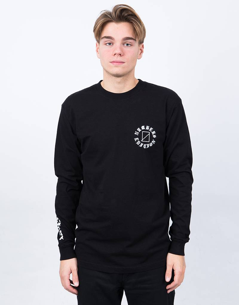 Numbers Ayale Sad Dawg Longsleeve Black