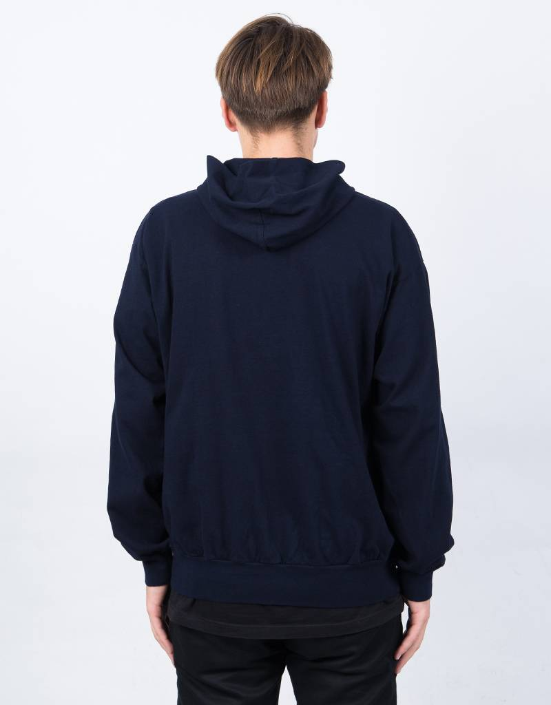 Numbers Embroidered Edition Symbol Hoodie Navy