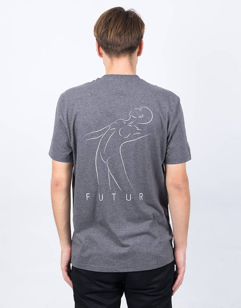 Futur New 01 T-Shirt Dark Heather Grey