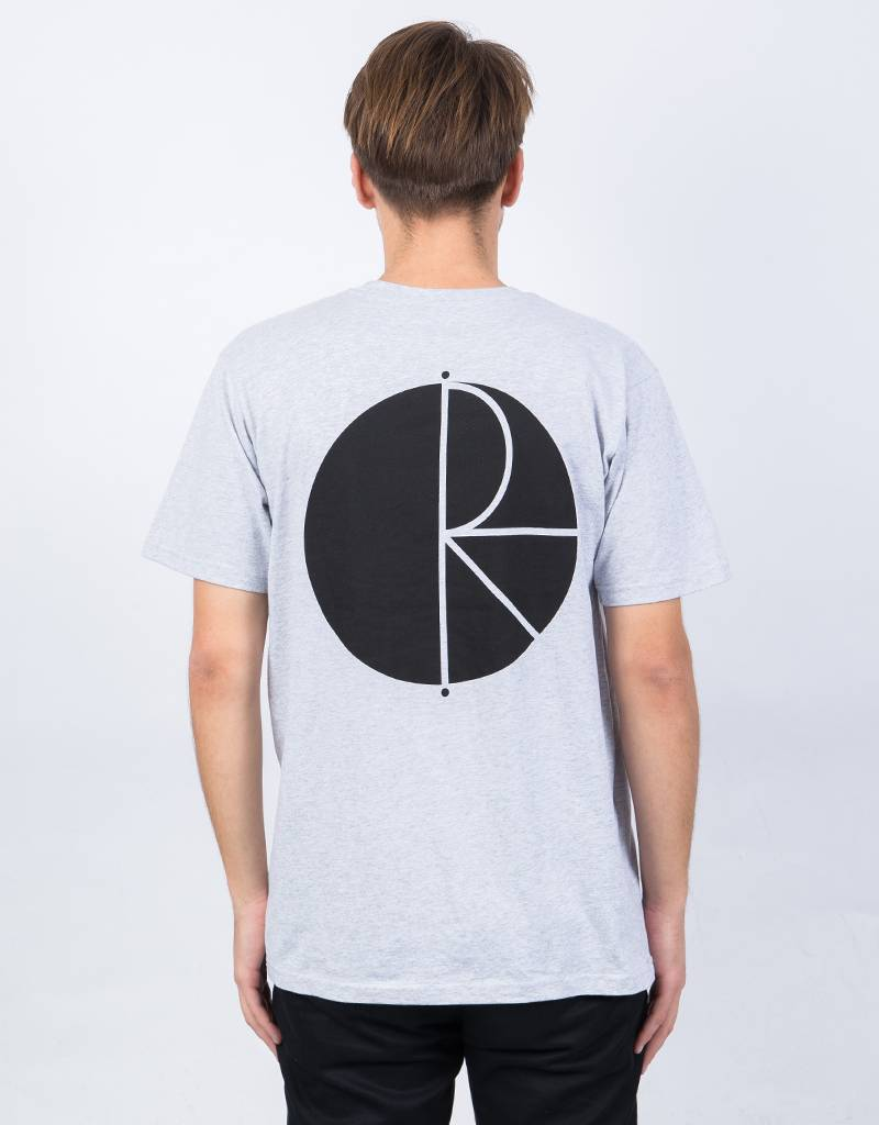 Polar Fill Logo T-shirt Sports Grey