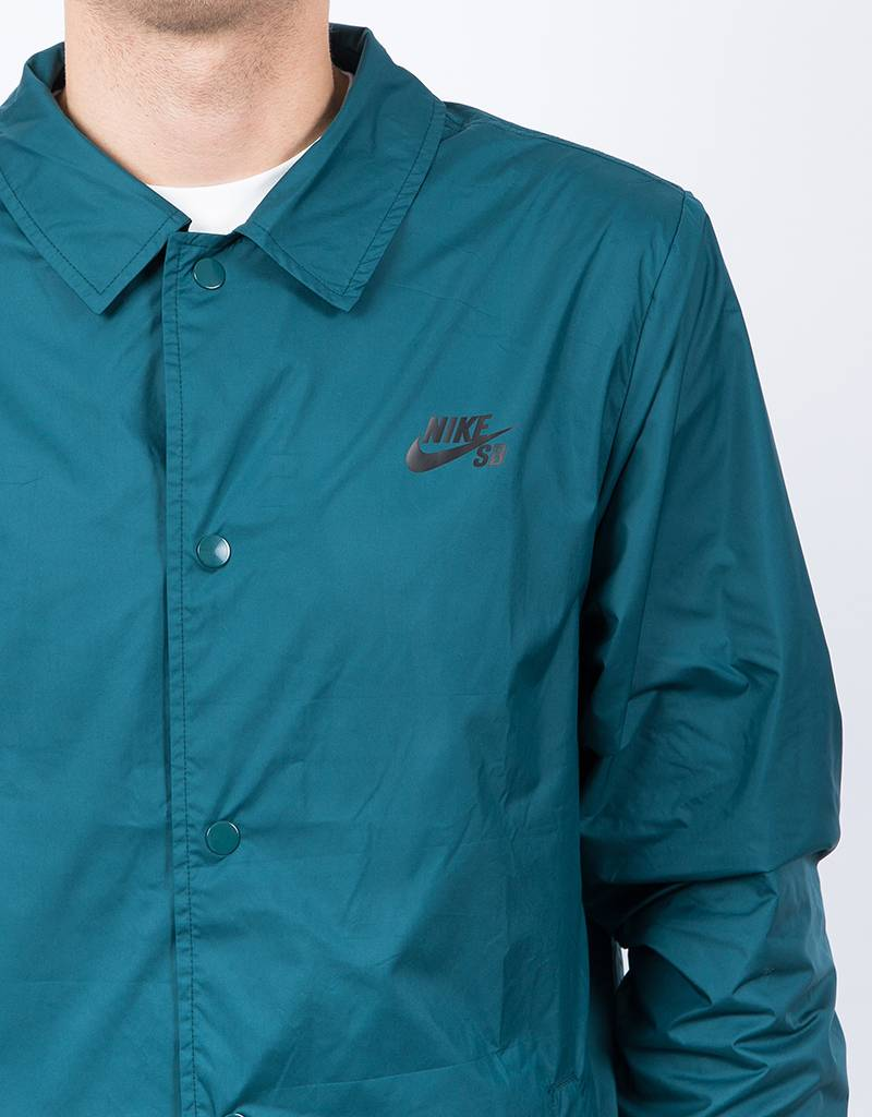 Nike SB Shield Coach Jacket Dark Atomic Teal/Black