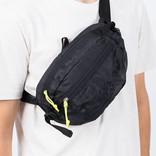 Pop Trading Co Hip Bag Black