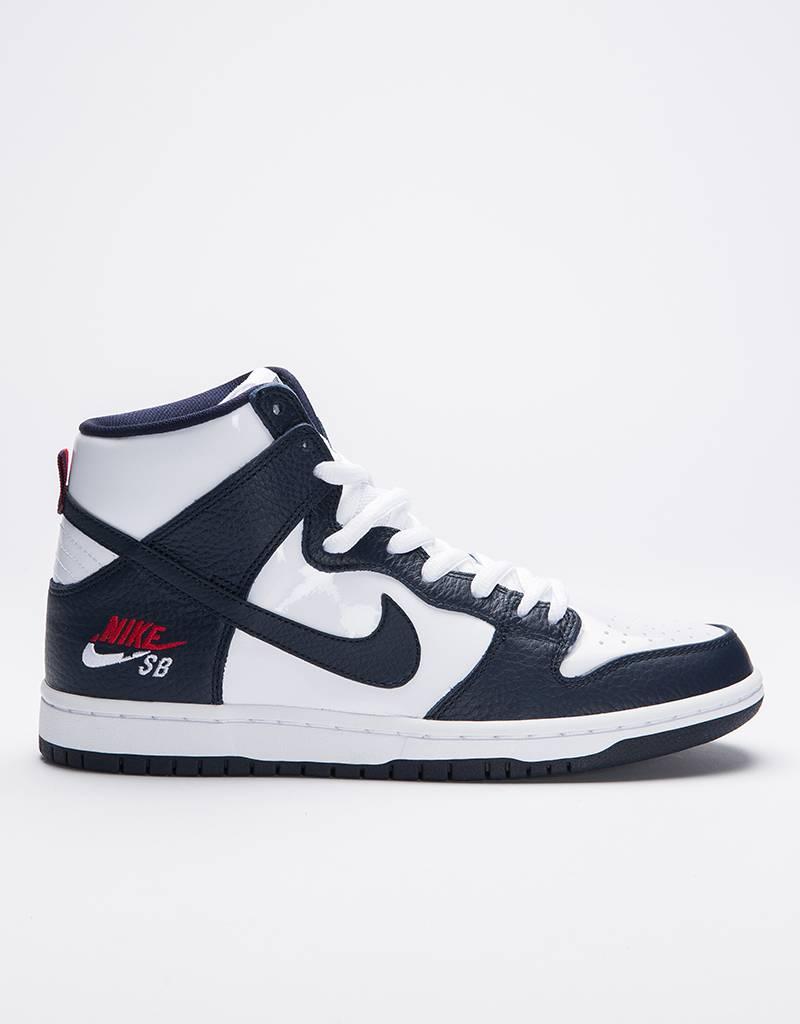 Nike SB Zoom Dunk High Pro Obsidian/Obsidian-White-University Red