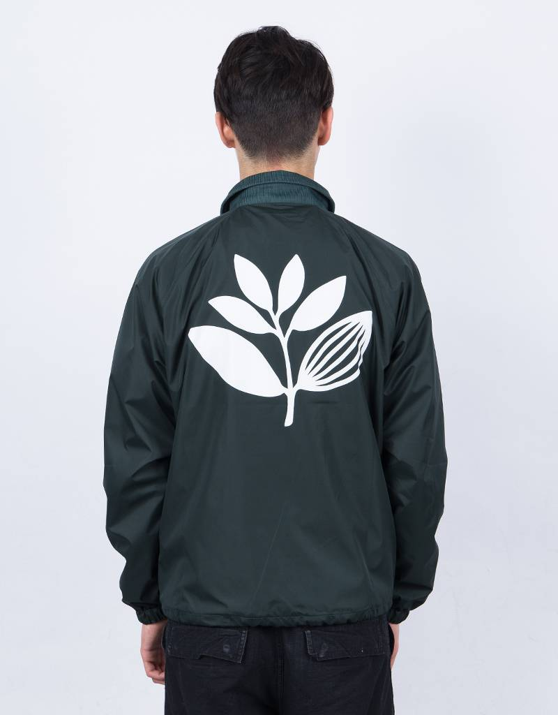 Magenta Windbreaker Forest Green