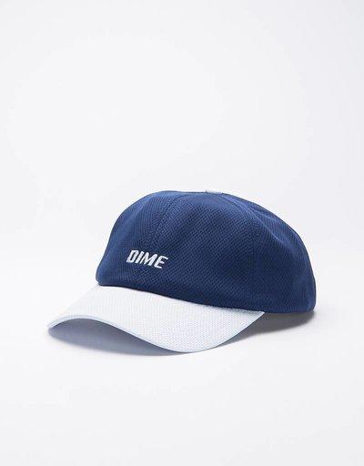 Dime Mesh Snap-Back Cap Navy & Light Gray