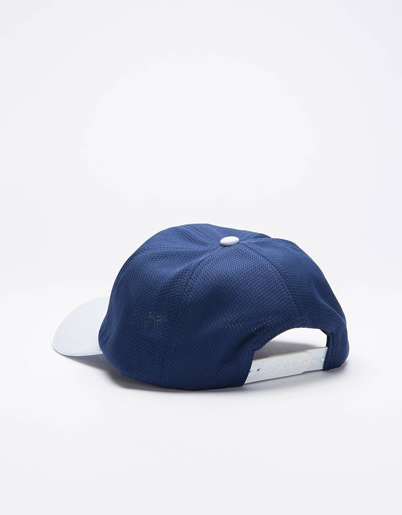 Dime Mesh Snap-Back Cap Navy & Light Gray