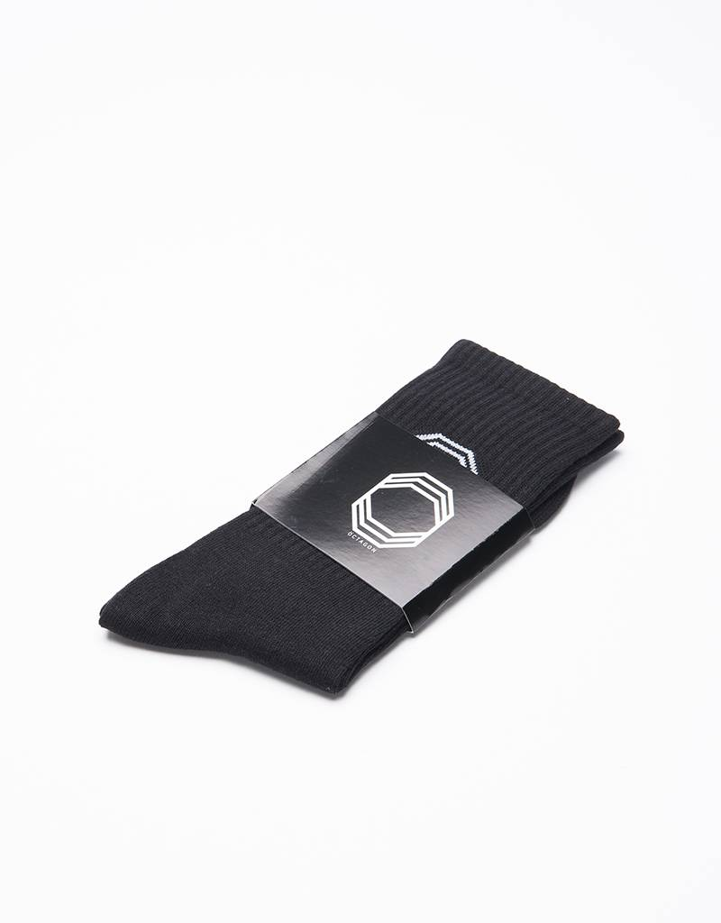 Octagon Socks Black
