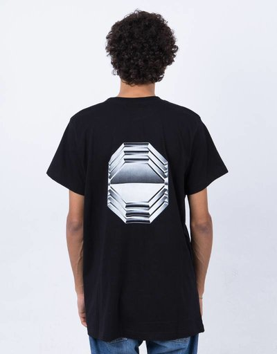 Octagon Iron T-shirt Black
