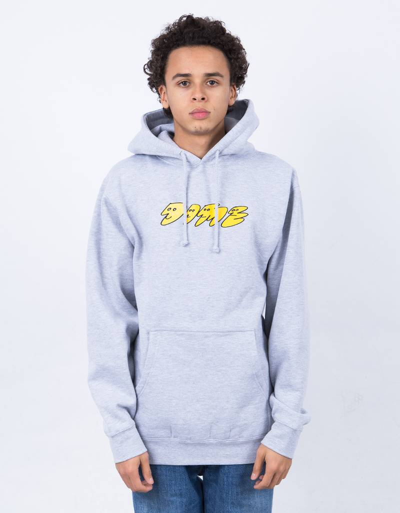 Dime Faces Hoodie Heather Gray