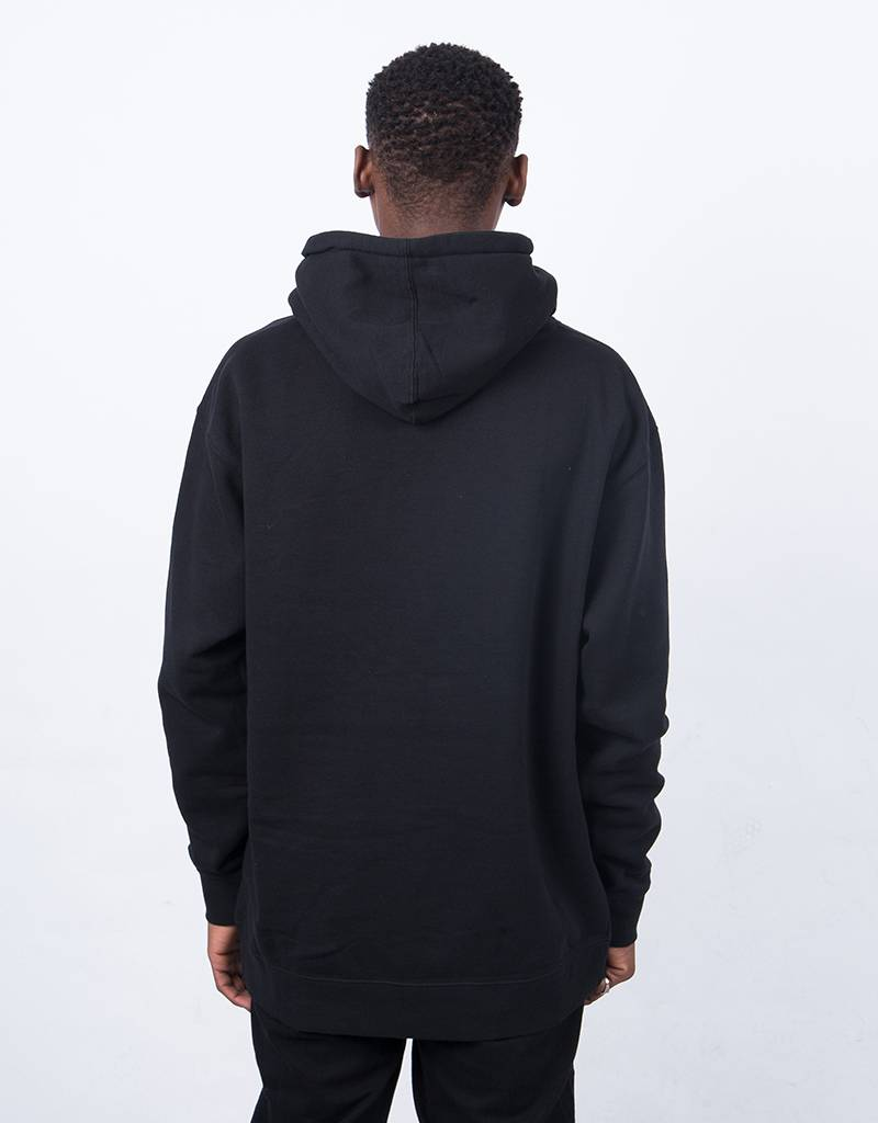 Hotel Blue Hoody Embtoidered Ombre Logo Black
