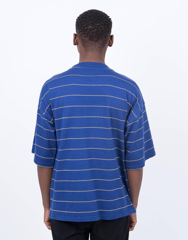 Polar Checkered Surf Tee Blue