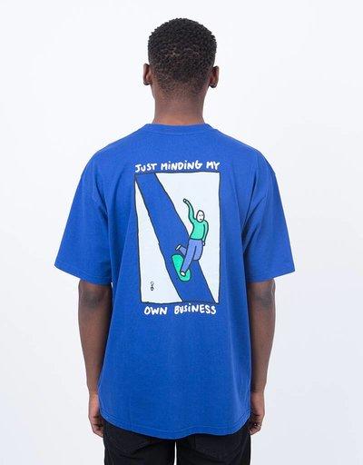 Polar Just minding My Own Business T-Shirt Midnight Blue