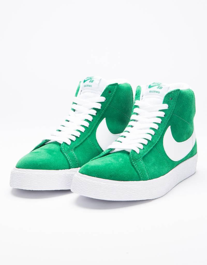 3f22419cfdc13a ... Nike SB Nike SB Zoom Blazer Mid pine greenwhite - Lockwood S ...
