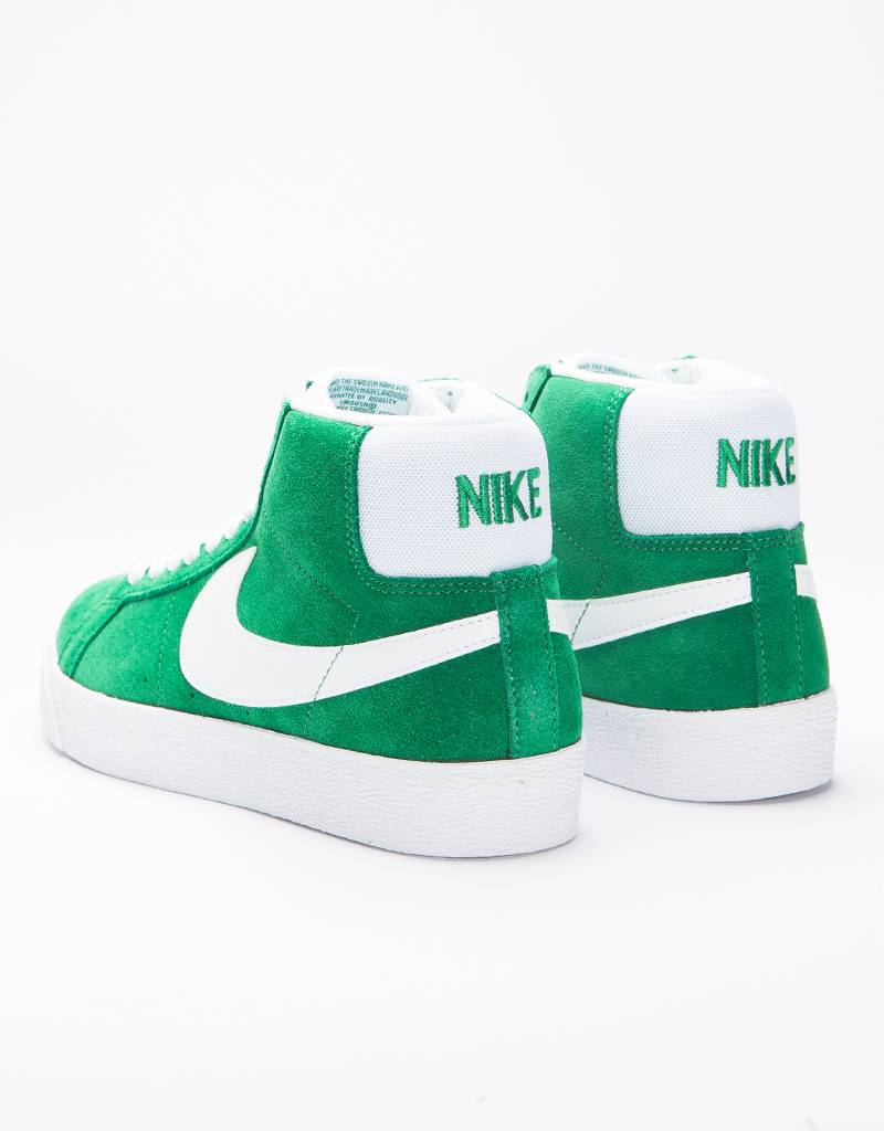 Nike SB Zoom Blazer Mid pine green/white