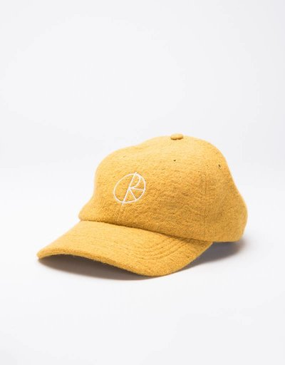 Polar Boiled Wool Cap Mustard