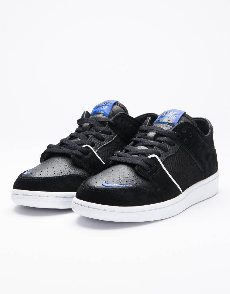 Nike sb zoom dunk low pro qsblack/game royal-white