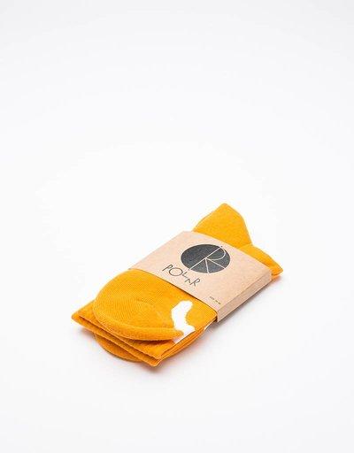 Polar Happy Sad Classic Socks Orange