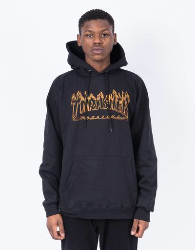 Thrasher Hood Richter Black