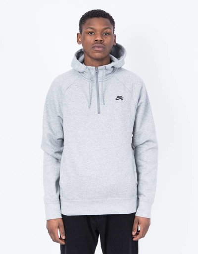 Nike Sb Hoodie Dk Grey/Heather Black
