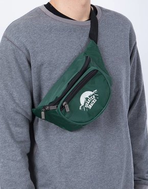 Quartersnacks Party Satchel Forrest Green