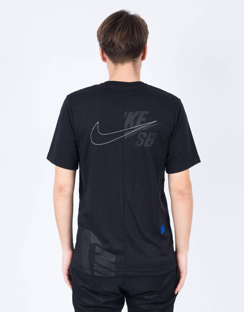 Nike SB Soulland Dry T-Shirt Black/White