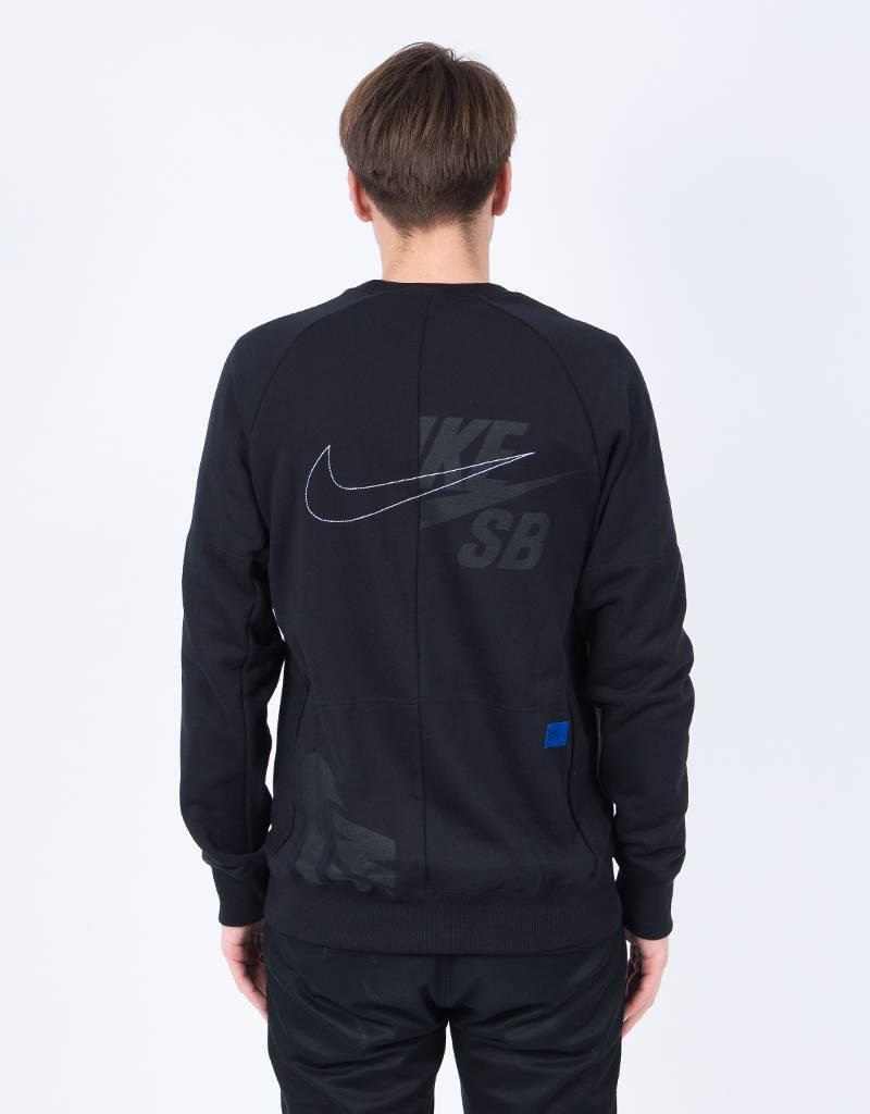 Nike sb dry soulland Crewneck black/white