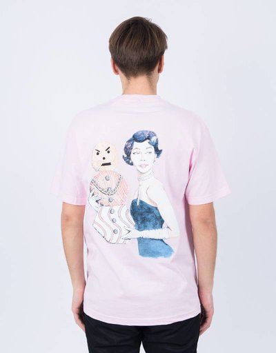 Quartersnacks Champagne Forever Tee Pink