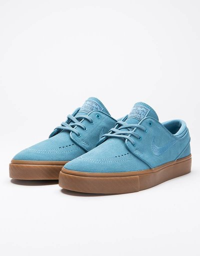 Nike sb zoom stefan janoski noise aqua/noise aqua-thunder blue
