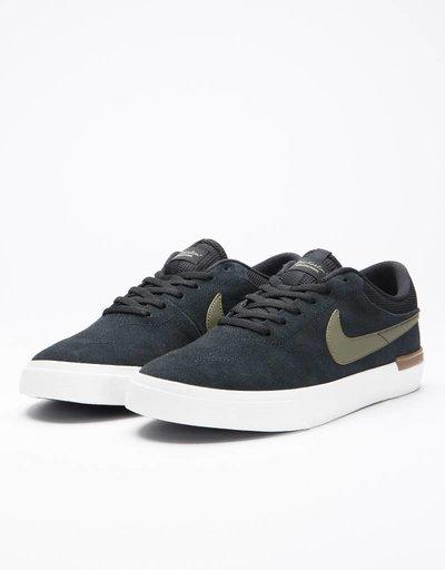 Nike sb hypervulc eric koston black/medium olive-gum med brown
