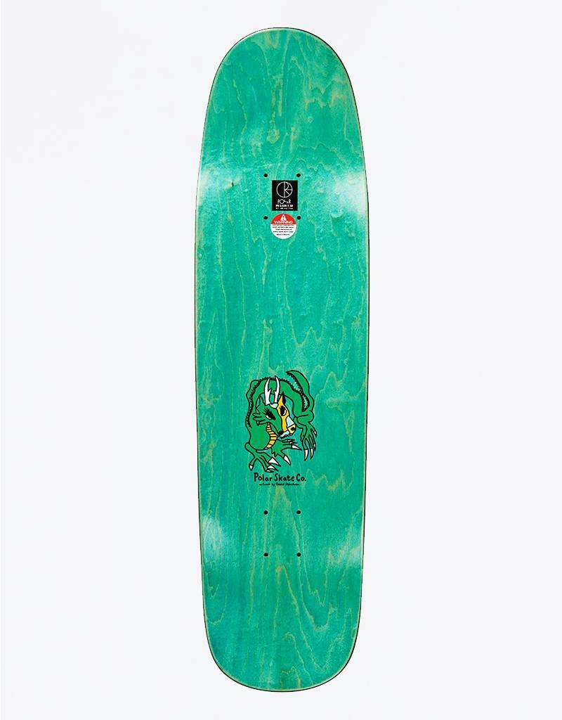 "Polar Oskar Rozenberg Dragon Sunset Green P9 8,625"" Deck"