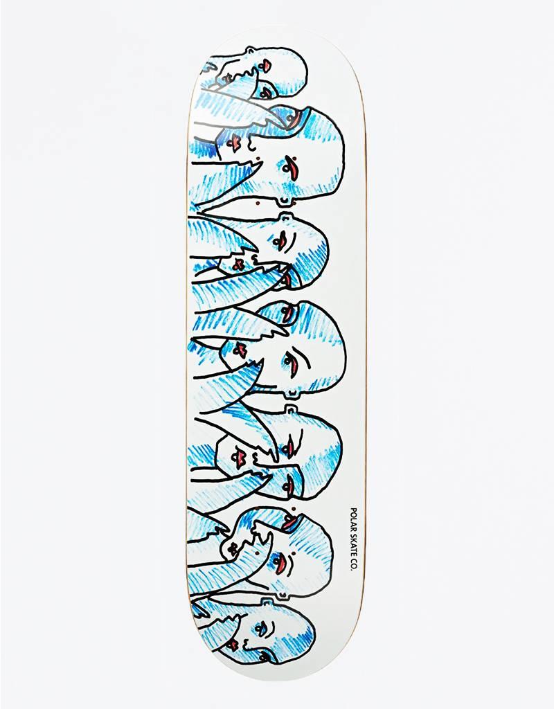 "Polar Team Doodle Faces 8,125"" Deck"