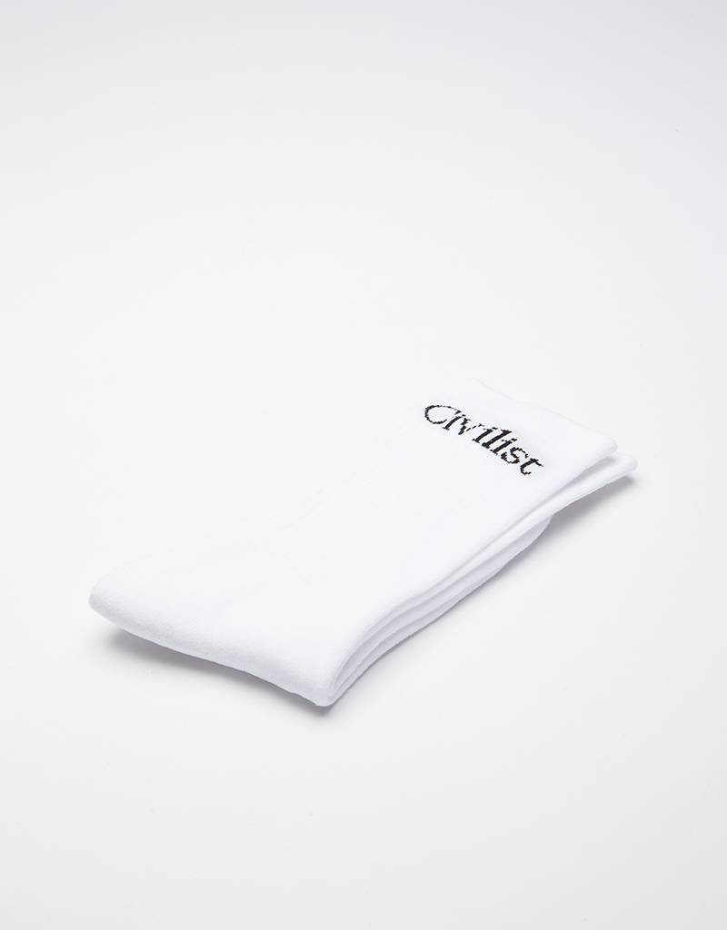 Civilist Socks White