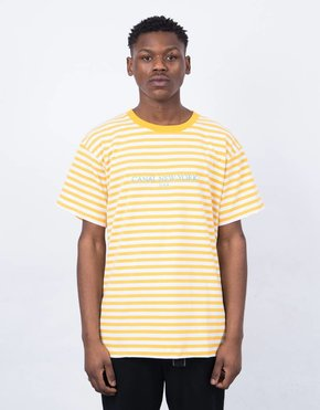 Canal Canal USA Striped T-Shirt Orange