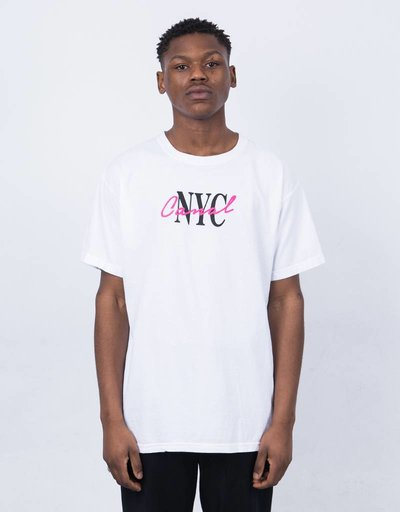 Canal Lipstick T-Shirt White
